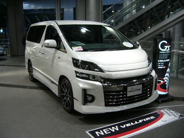 Desain Eksterior Toyota vellfire