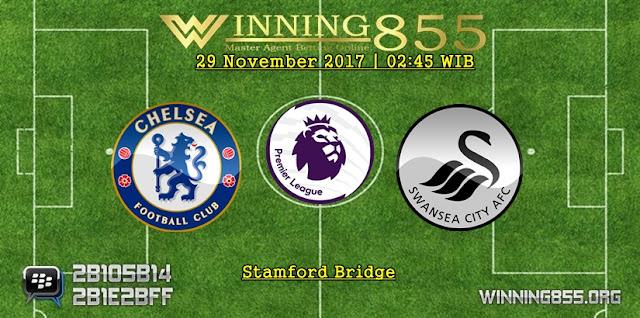 Prediksi Akurat Chelsea vs Swansea 30 November 2017