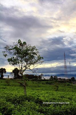 View arah Timur Salabintana mulai cerah