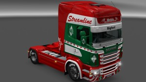 Scania RJL Spedition Wehle skin