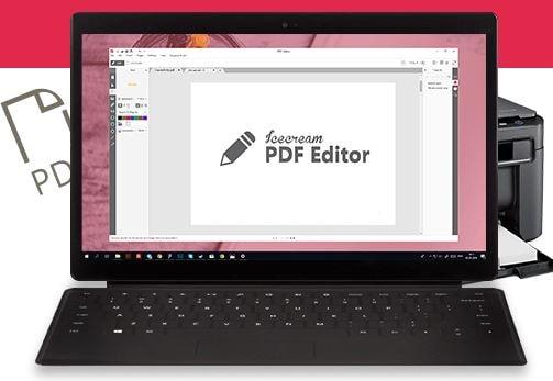 أفضل, برنامج, لتعديل, وتحرير, مستندات, PDF, على, الكمبيوتر, Icecream ,PDF ,Editor