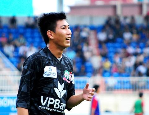 Thủ môn Nguyễn Tuấn Mạnh, một trong những người có nhiều kinh nghiệm trận mạc nhất trong đội tuyển Quốc gia Việt Nam