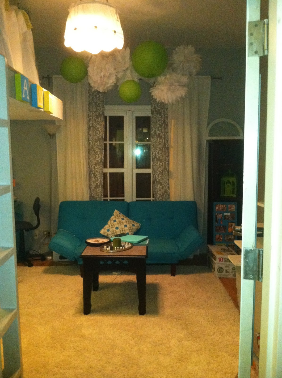 Dorm Room: The Old Post Road: Dorm Room Ideas