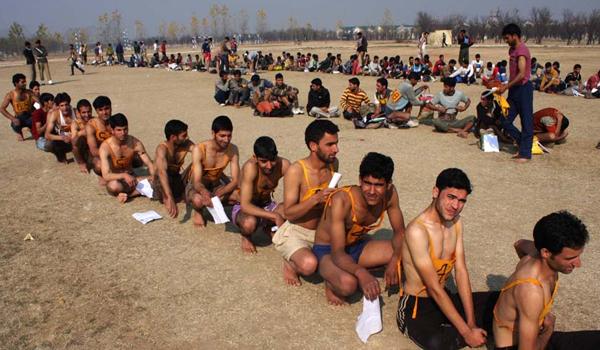 Narangi  Indian Army Rally, Open Bharti Rally