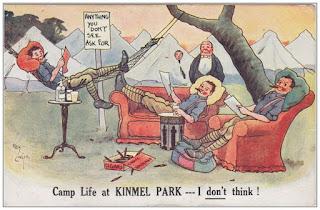 Funny postcard Reg Carter