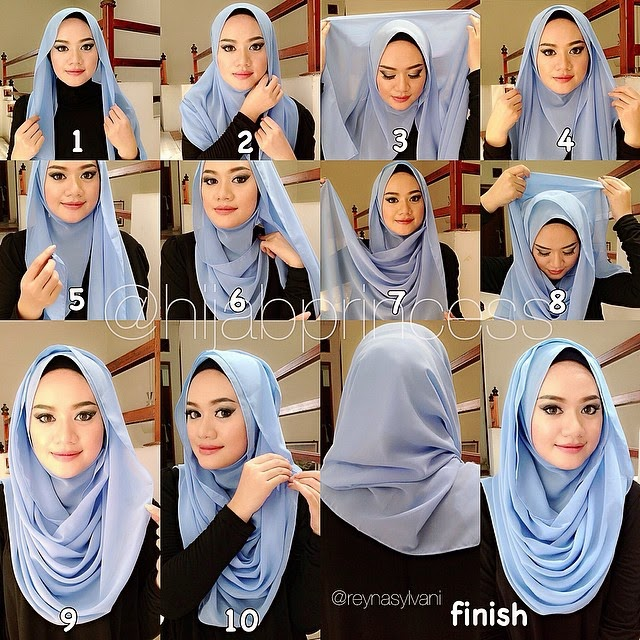 comment mettre hijab moderne tuto hijab 2017 hijab fashion and chic style. Black Bedroom Furniture Sets. Home Design Ideas