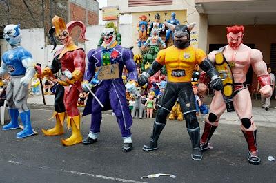 Tradycja noworoczna w Ekwadorze
