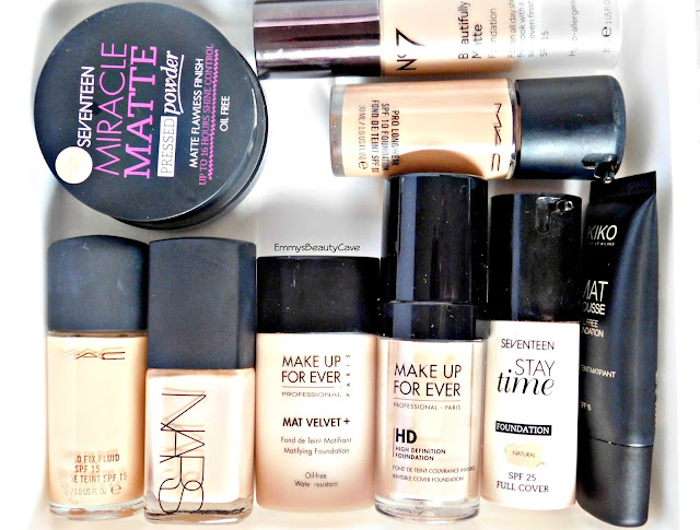 foundation makeup storage