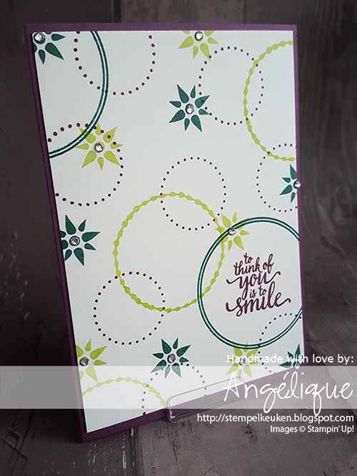 http://stempelkeuken.blogspot.com/2017/05/stampin-up-eastern-palace-suite-dag-3.html #stempelkeuken #stampinup #stampinupnl #workshop #thinkingofyou #cirkel #circle #decorations #kado #handmade #homemade #withlove #stempelen #beautiful #papercrafting #creatief #create #creativity #creativityfound #denhaag #thehague #zuidholland #westland #expatsthehague #snailmail #gold #goud #glitter #embossing #kaartenmaken