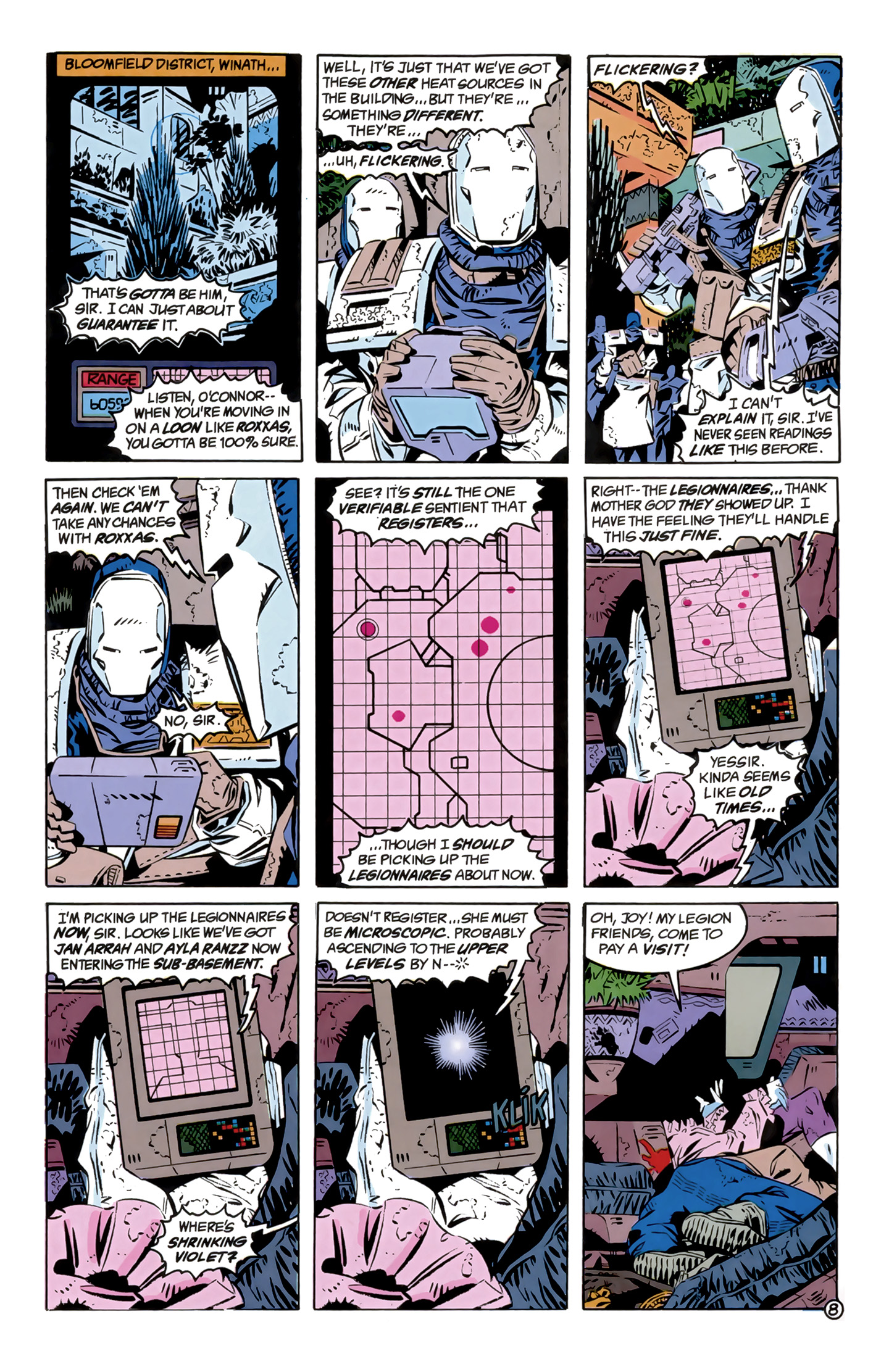 Legion of Super-Heroes (1989) 12 Page 8