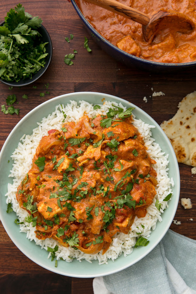 Quick easy butter chicken cooks network i was wanting something a little different than our normal chicken recipes the fact that i was craving indian food made this an easy choice i didnt have forumfinder Gallery