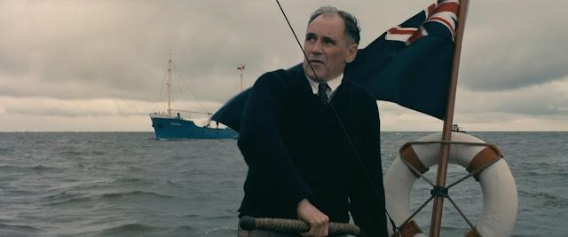 M. Dawson (Mark Rylance), un civil, dans Dunkerque de Christopher Nolan (2017)