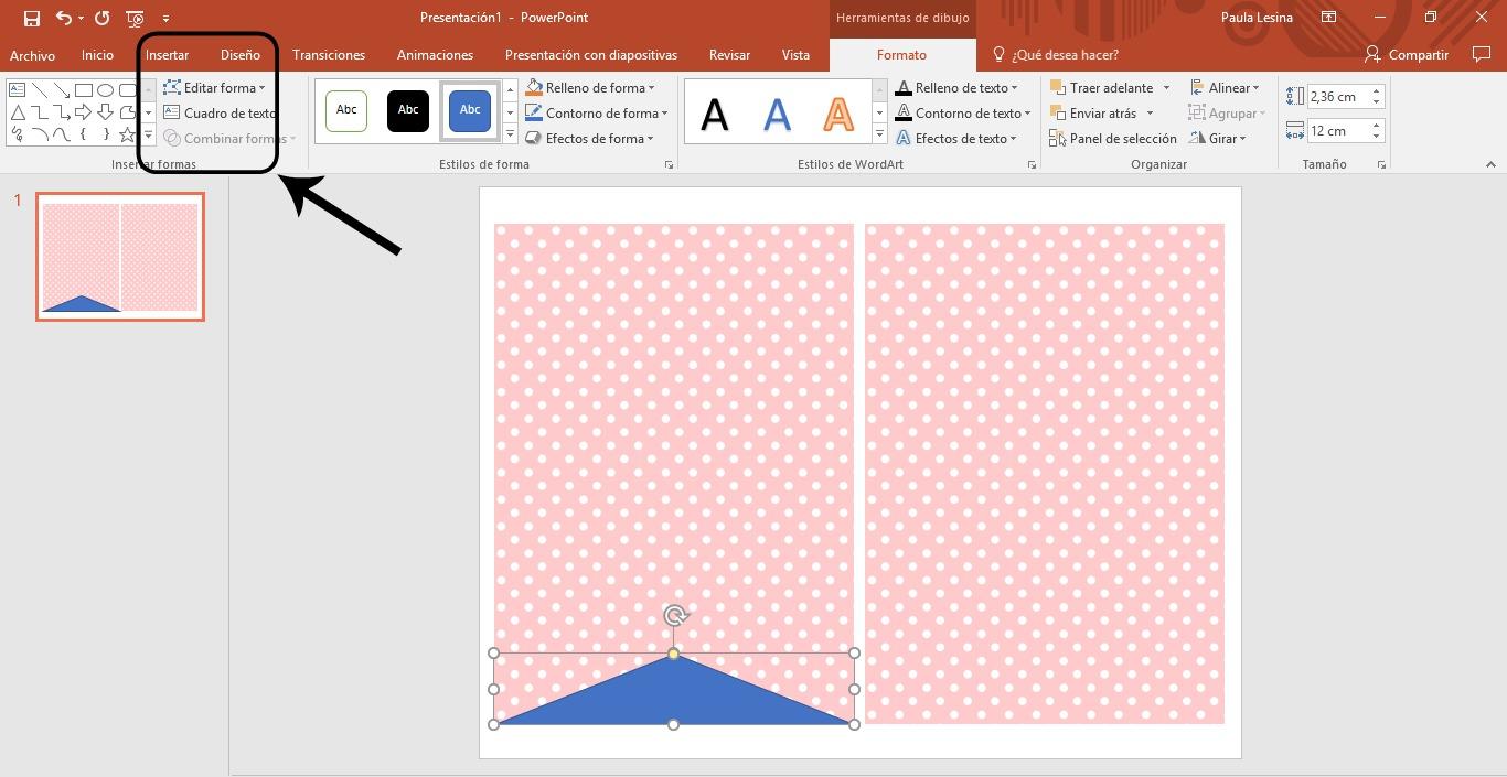 Cómo diseñar banderines con powerpoint