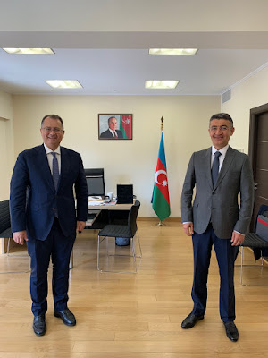 Συνάντηση Γ. Στύλιου με τον Πρέσβη του Αζερμπαϊτζάν