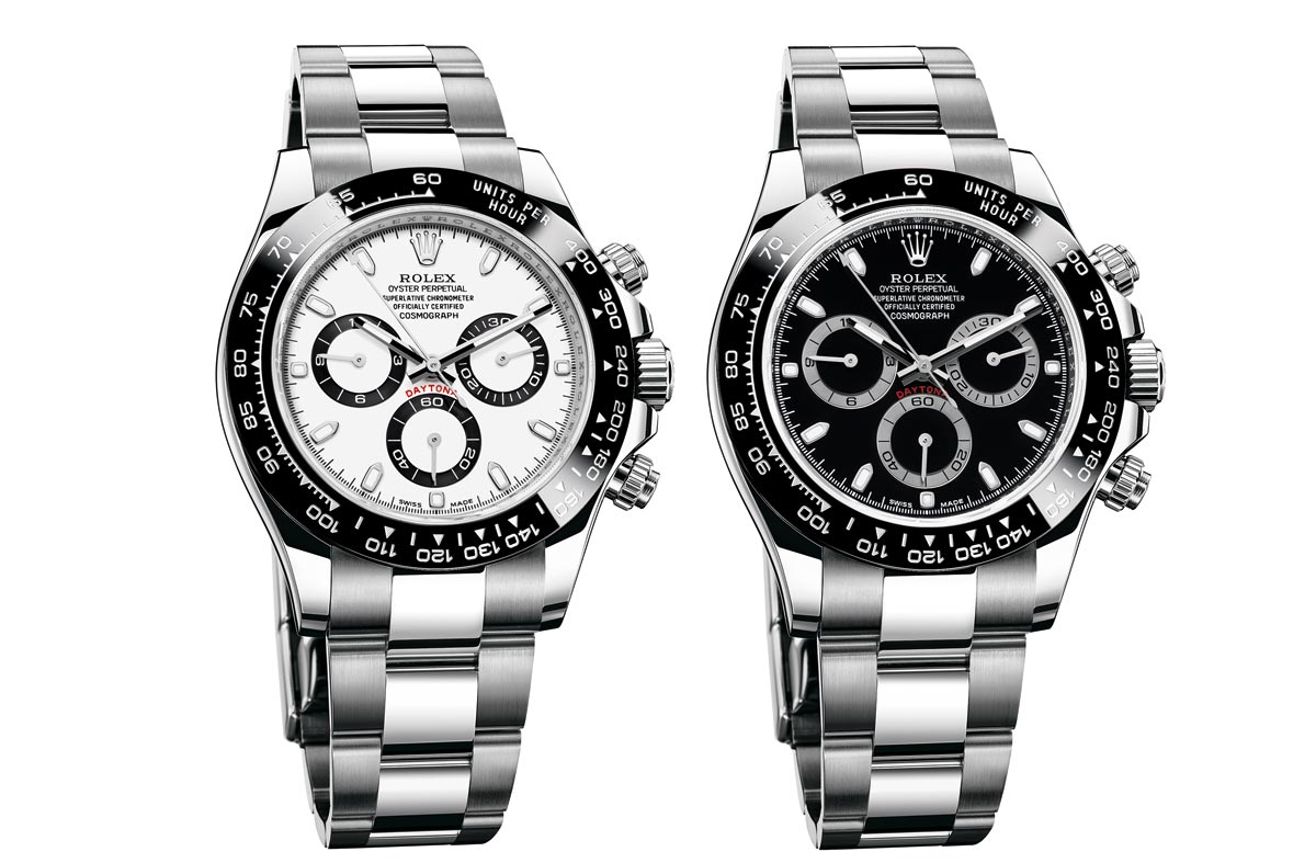 792ac6888414a Rolex just introduced a new version of its Oyster Perpetual Cosmograph  Daytona in 904L steel, with a monobloc Cerachrom bezel in black ceramic.
