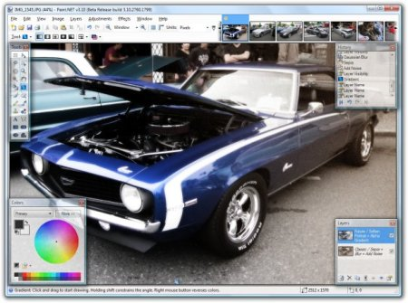 Download Paint.NET 4.0.10 Final Portable