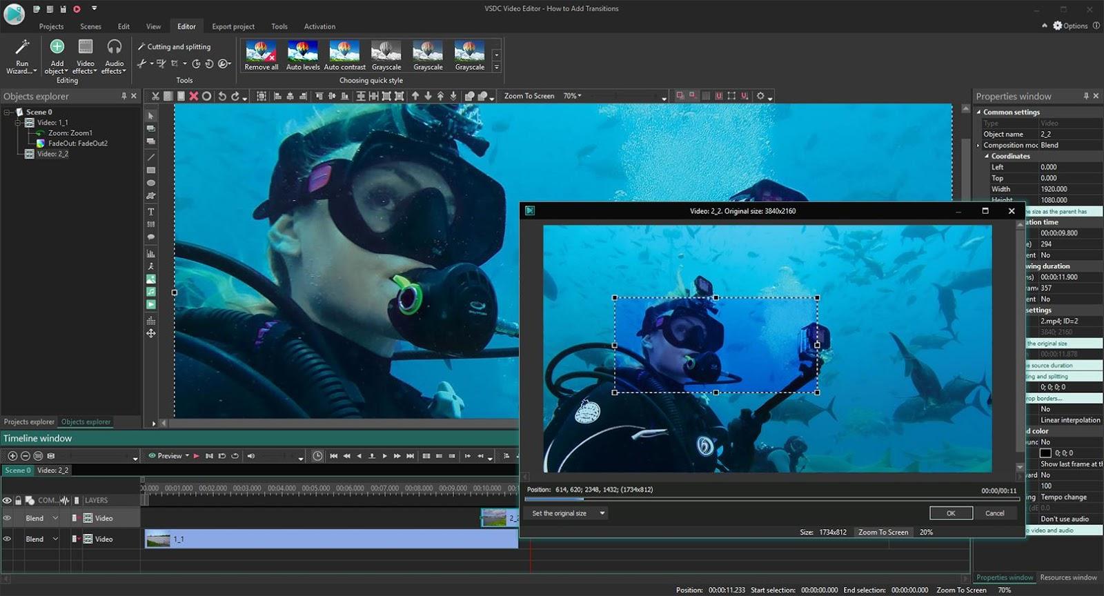 VSDC Free Video Editor 6.3.5.10