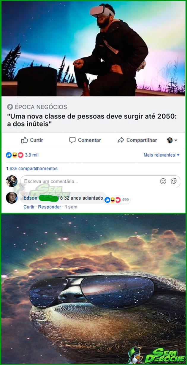 SAIU NA FRENTE DE TODO MUNDO