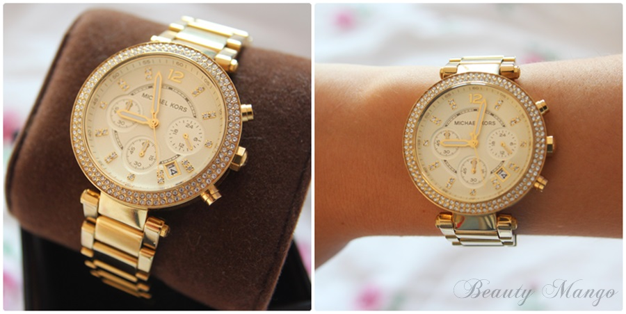 I'm in Love with my Michael Kors Watch ♥ Beauty Mango