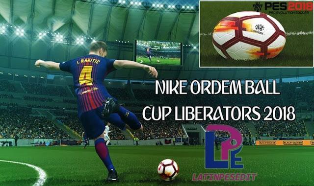 Copa Libertadores 2018 Ball PES 2018