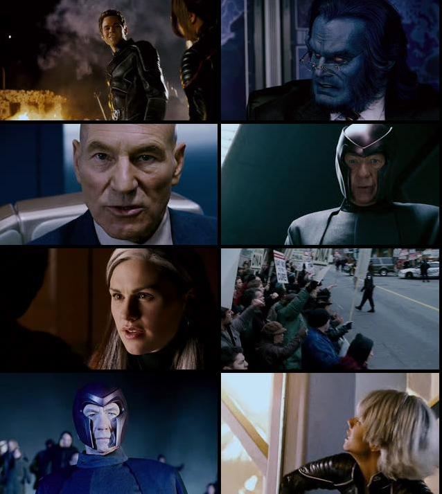 X-Men 3 The Last Stand 2006 Dual Audio Hindi 720p BRRip
