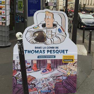 The digital teacher ducation on lit l 39 aventure de l for Dans la combi de thomas pesquet