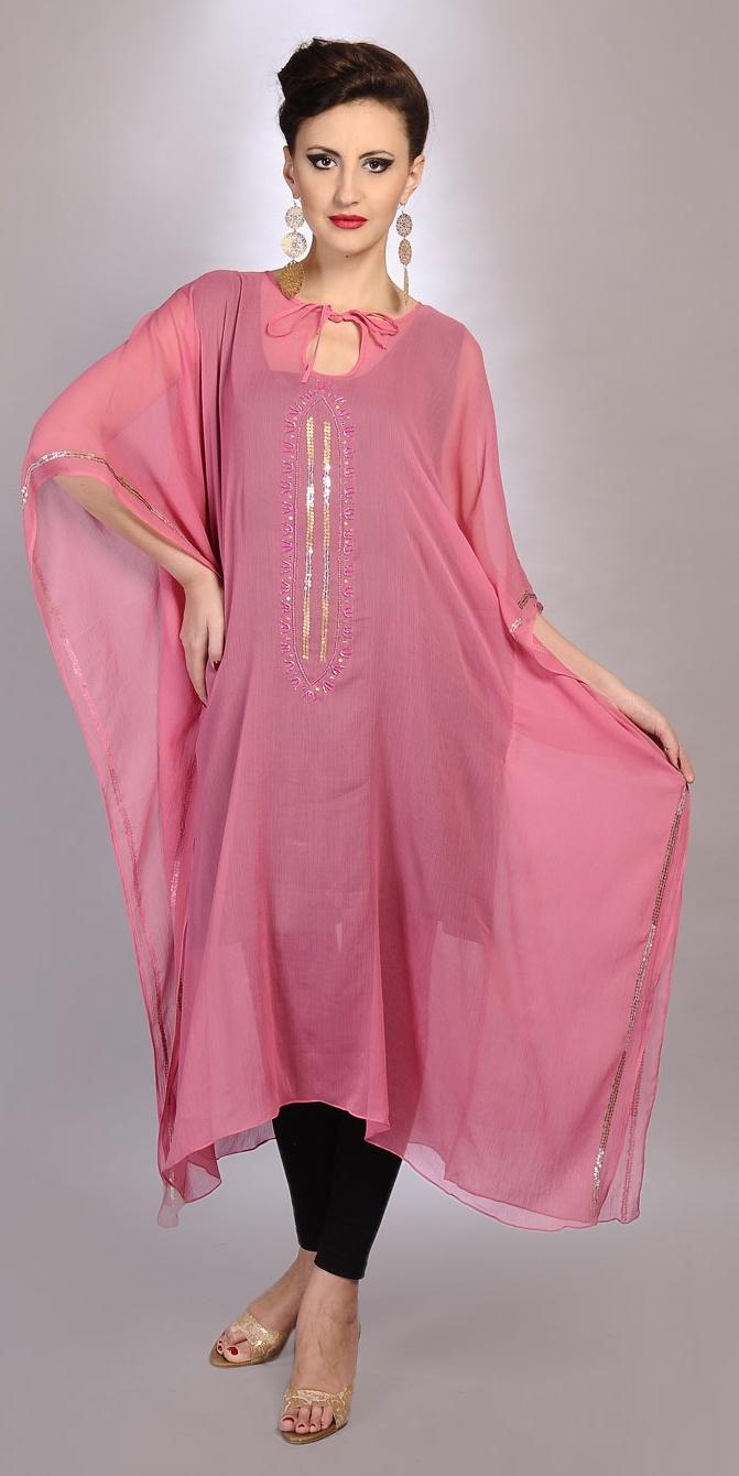 Short Kaftan Dress Designs