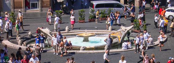 Plaza de España. 5 dias en Roma