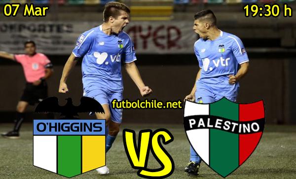 VER STREAM EN VIVO, ONLINE: O'Higgins vs Palestino