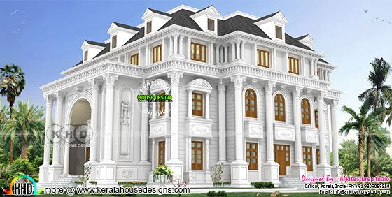 Super luxury Colonial house with 6 bedrooms