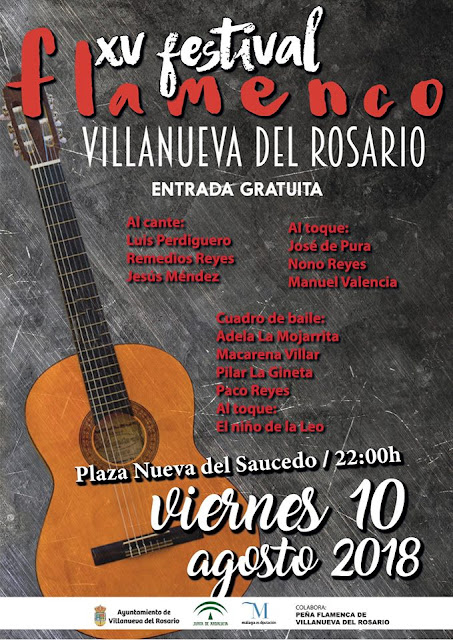 XV Festival Flamenco Villanueva del Rosario