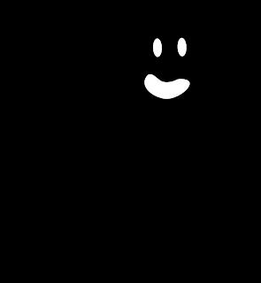 Clipart de Fantasmas para Halloween.