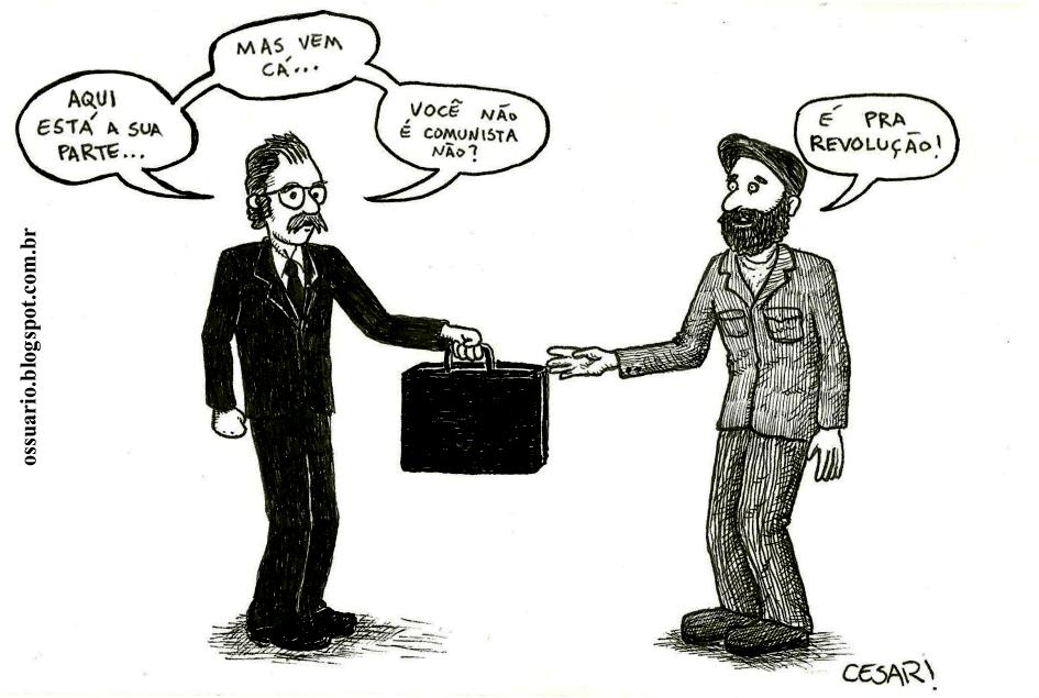 O Comunista-capitalista, por Cesar Andrade