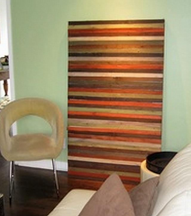 Sunset Coast Diy Reclaimed Wood Wall Art