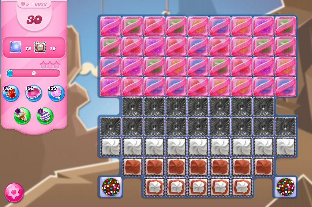 Candy Crush Saga level 6022