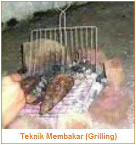 Teknik Membakar (Grilling) - Teknik Pengolahan Pangan Panas Kering (Dry Heat Cooking)