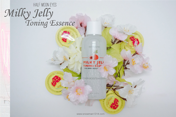 Half Moon Eyes Milky Jelly Toning Essence Review