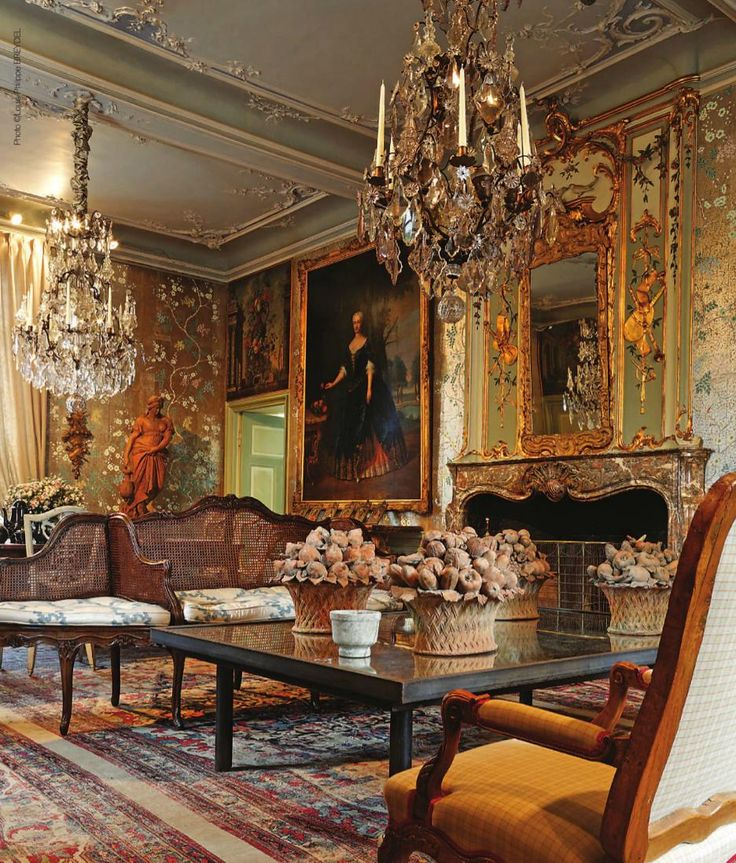 Eye For Design Decorating With Louis Xv Style French Mantles
