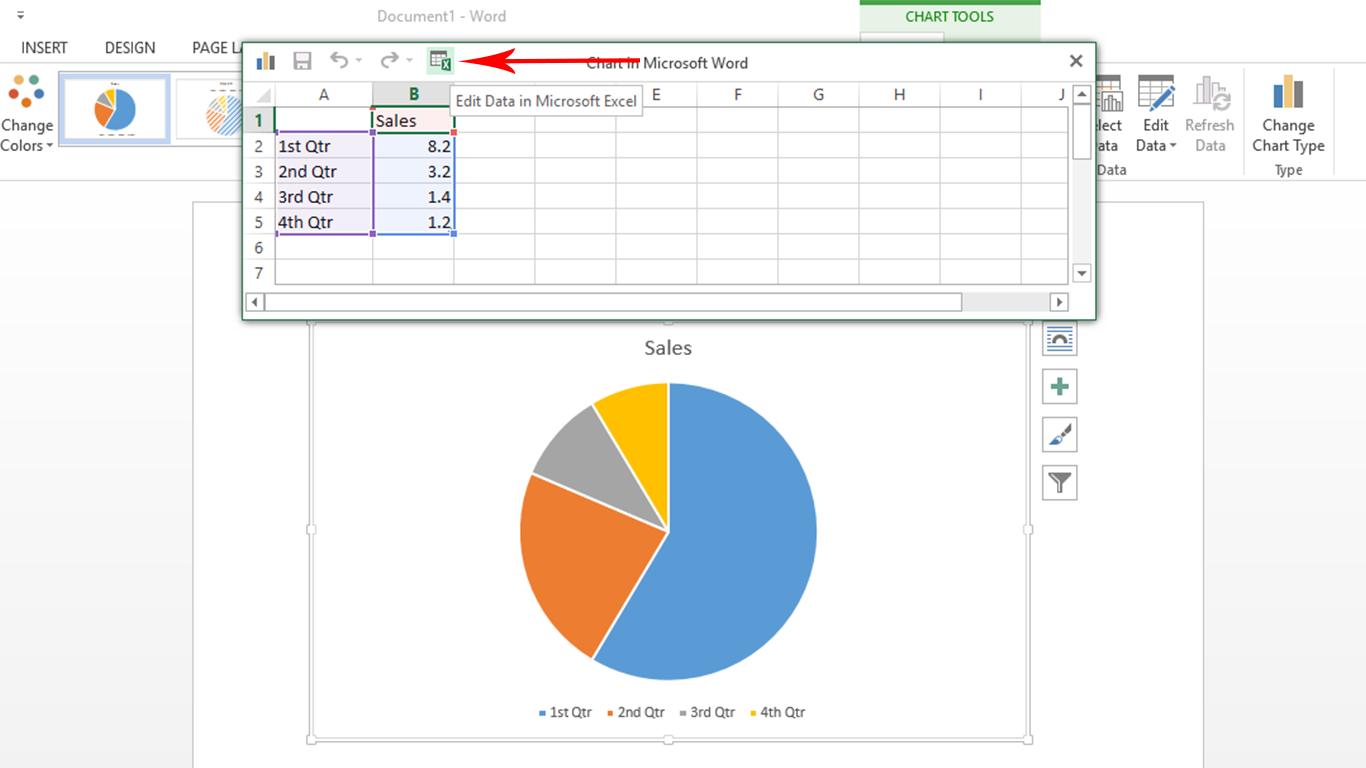 Cara membuat data grafikchart loxdi jika anda mengedit data chart di msexcel maka akan muncul msexcel setelah itu silahkan ubah data sesuai yang anda inginkan kalau sudah silahkan di close ccuart Gallery