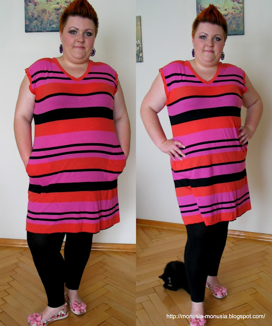 Outfit of the day Plus Size: T-Shirt czy sukienka?