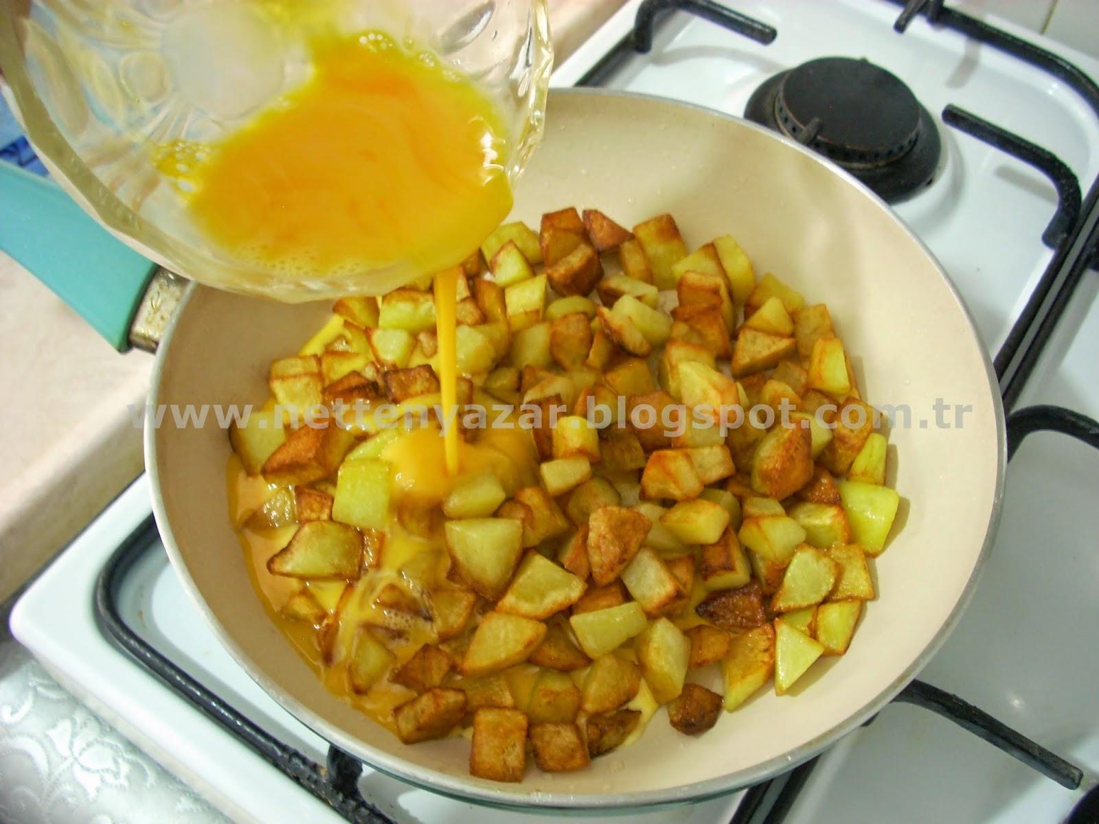 potatoes and eggs
