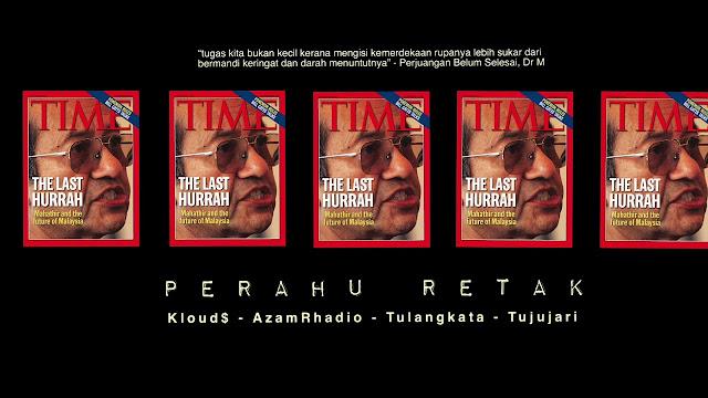 Lirik Lagu Perahu Retak Kloud$, AzamRhadio, Tulangkata & Tujujari (K-Clique)