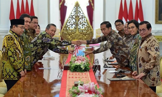BPK Sampaikan 447 Temuan Berindikasi Pidana Senilai Rp45,6 Triliun ke Jokowi