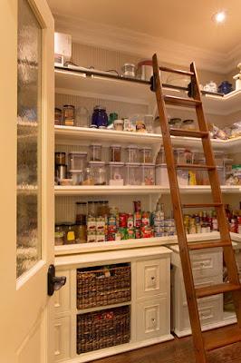 Desain pantry untuk dapur minimalis sederhana