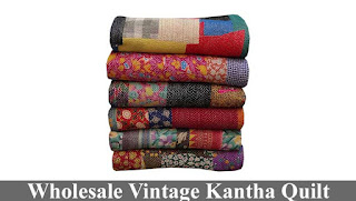 Wholesale Vintage Kantha Quilt and Throws