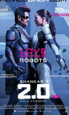 Robot 2.0 (2018) Hindi 480p 720p 1080p Pre-DVDRip Dual-Audio Full Movie x264 HD Free Download