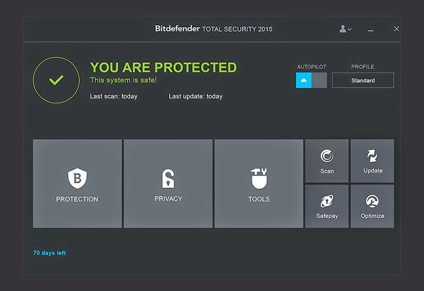 Bitdefender: Total Security 2015 Free Download