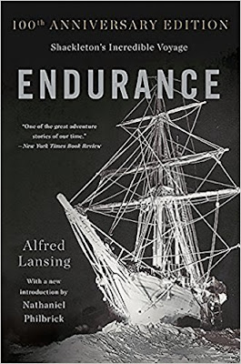 Endurance: Shackleton's Incredible Voyage by Alfred Lansing (Book cover)