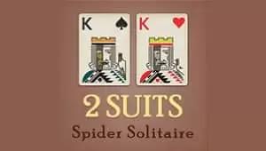 Örümcek İskambili 2 Takımlar - Spider Solitaire 2 Suits