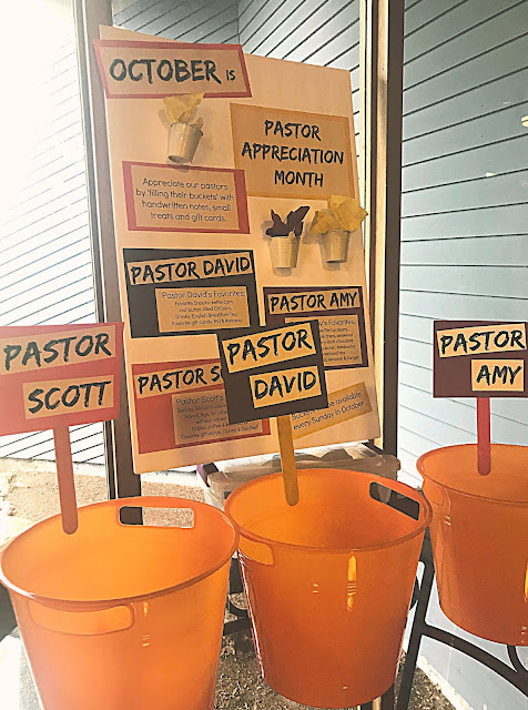 Ideas to celebrate Pastor Appreciation Month @michellepaigeblogs.com